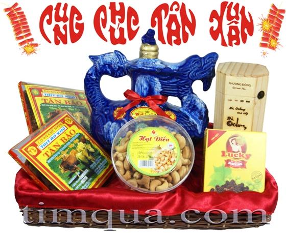 Giỏ quà tết Cung Chúc Tân Xuân